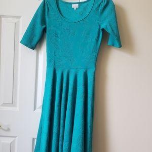 Lularoe  Embossed Nicole Dress